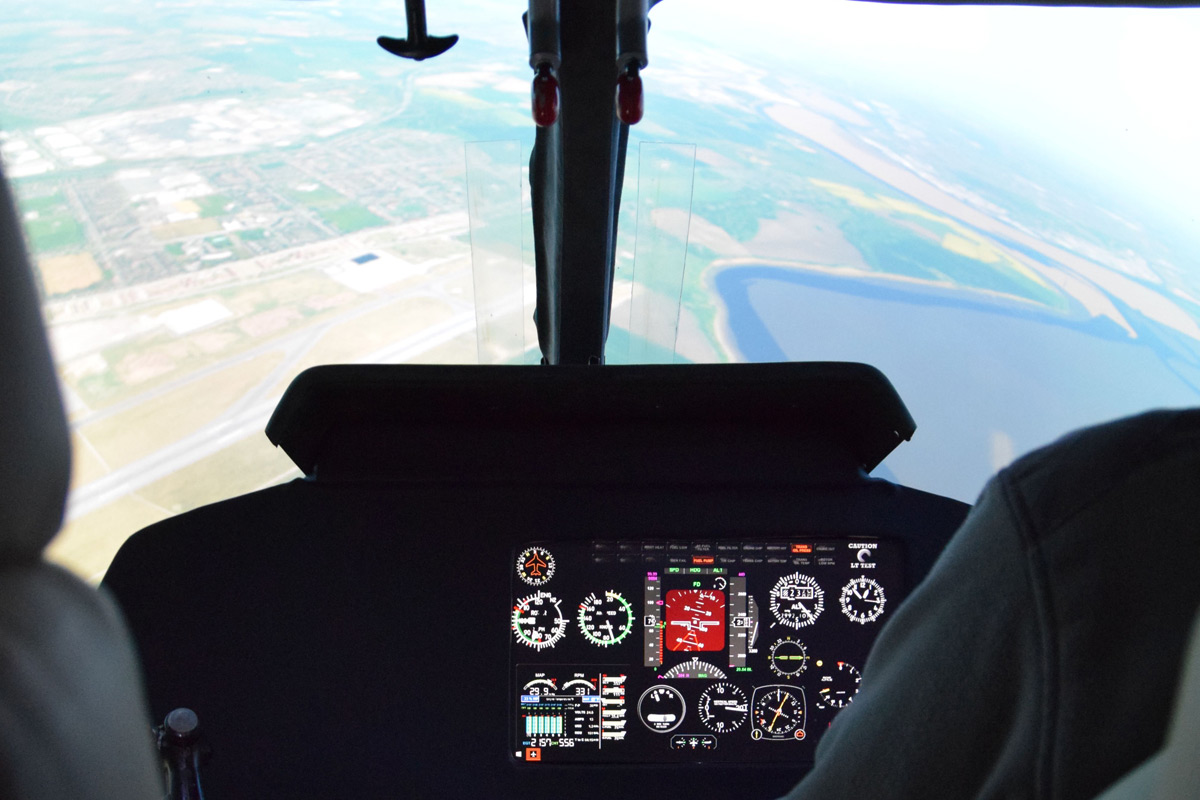 45 Minute Helicopter Simulator Experience