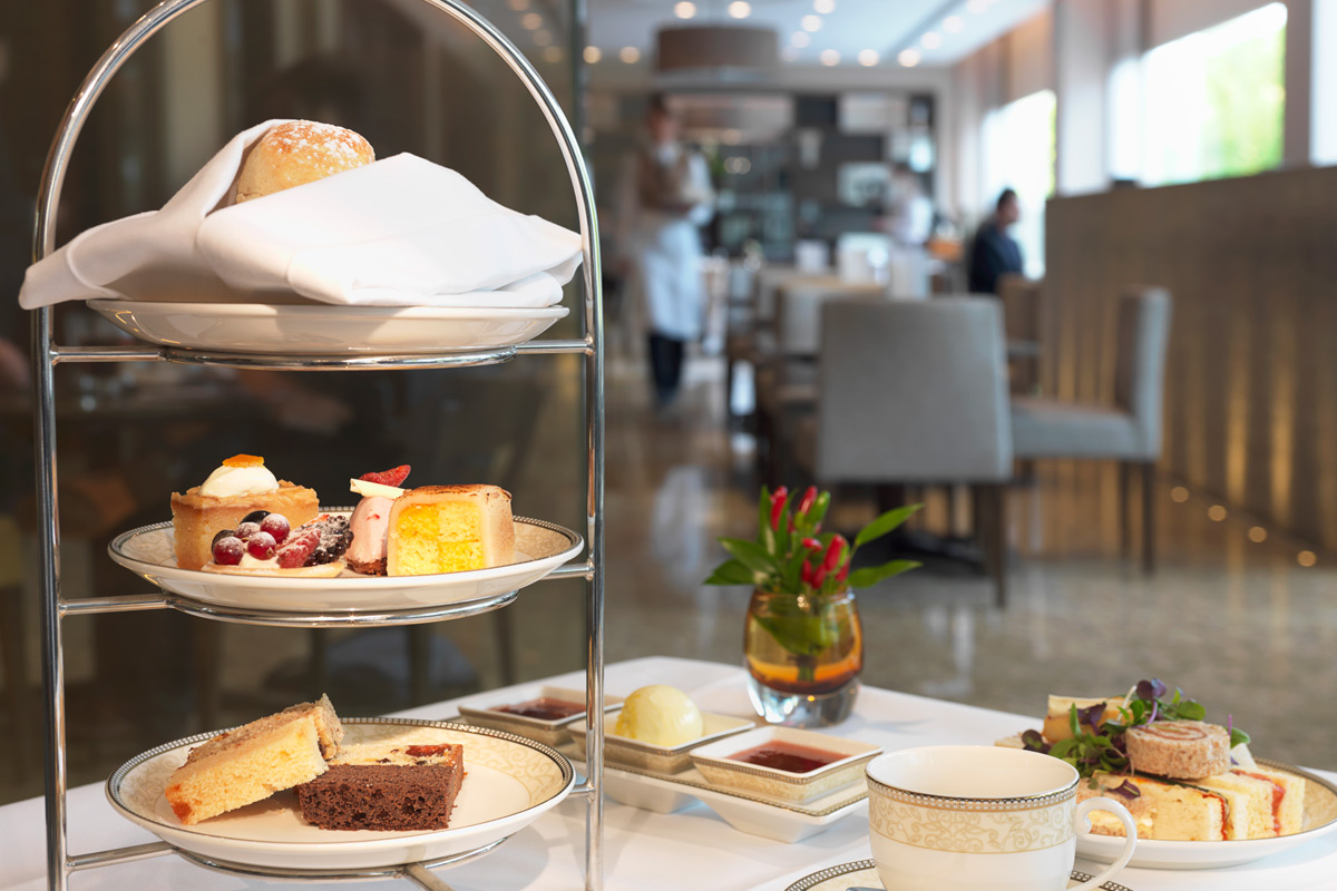 Afternoon Tea for Two at the 5* Royal Garden Hotel in Kensington