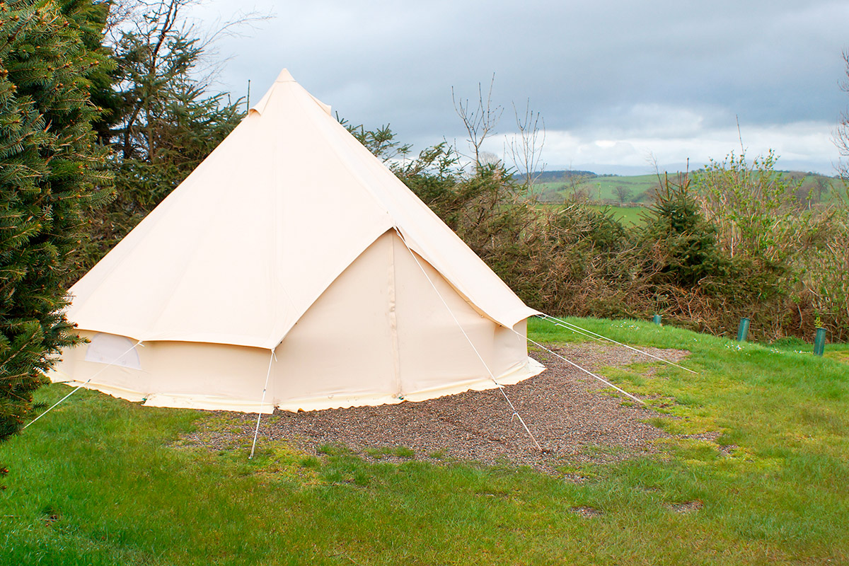 Two Night Bell Tent Gl&ing Break for Two at The Quiet Site Lake District & Two Night Bell Tent Glamping Break for Two at The Quiet Site Lake ...