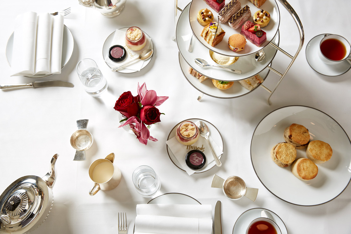 Afternoon Tea At Harrods For Two Lastminute Com
