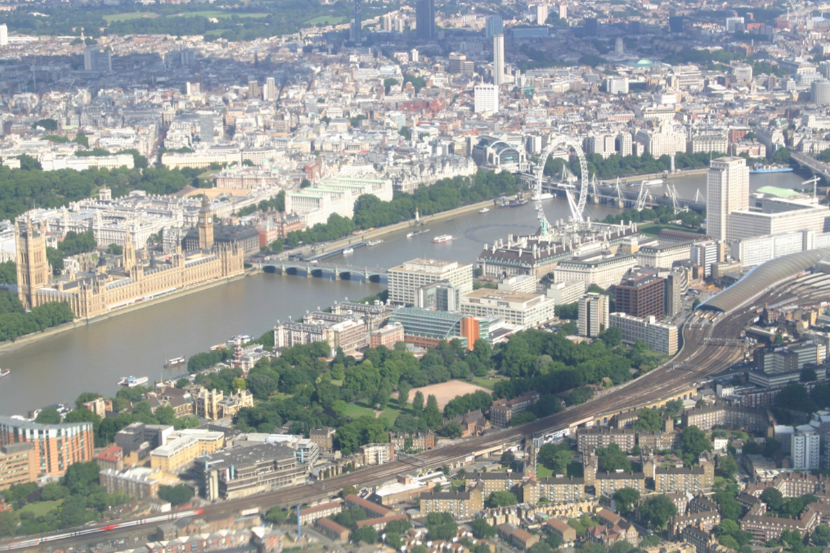 City of London Helicopter Sightseeing Tour for Two