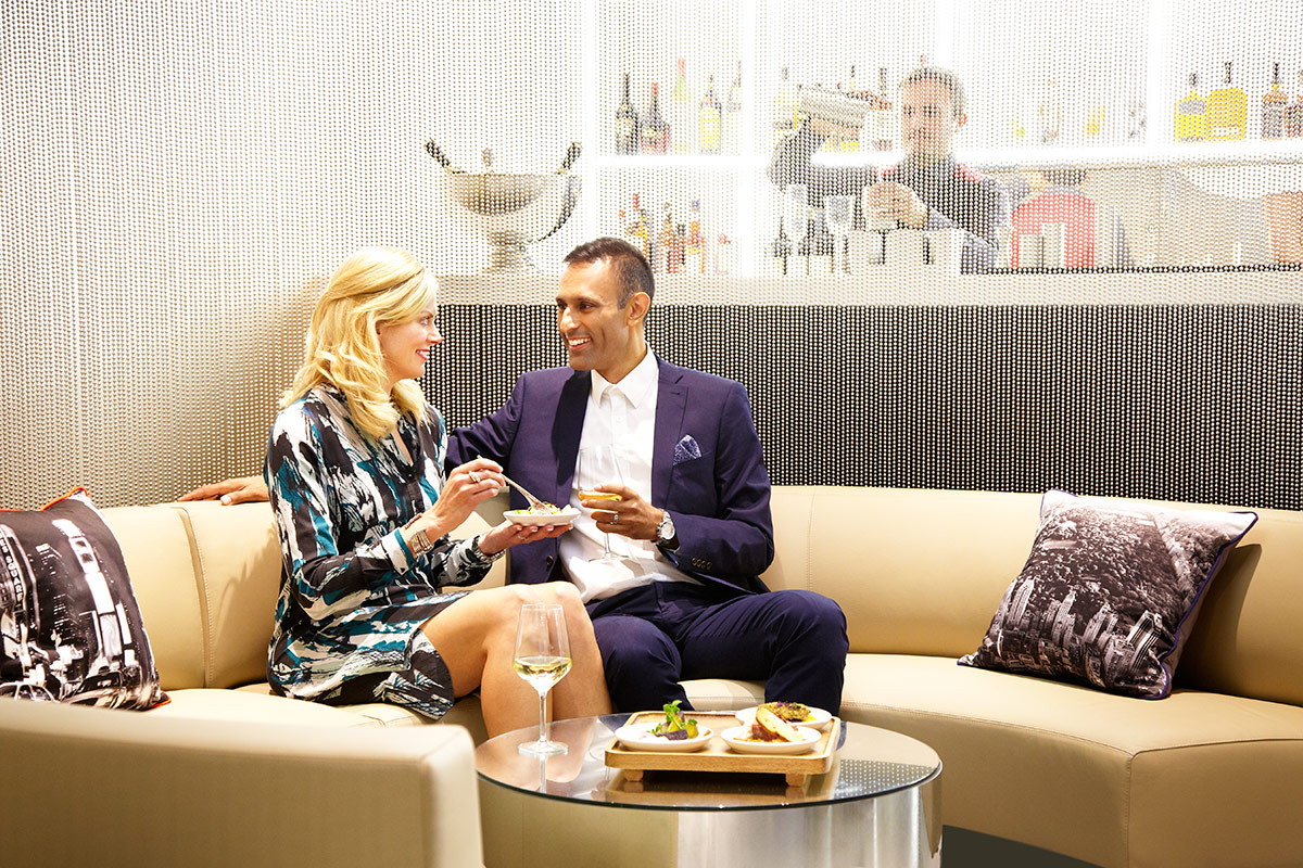 Amazing photo of  with a Cocktail and Sharing Platter for Two at NY LON Lounge Bar with #9A6731 color and 1200x800 pixels
