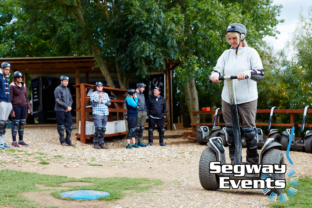 Family Segway Rally - Anytime