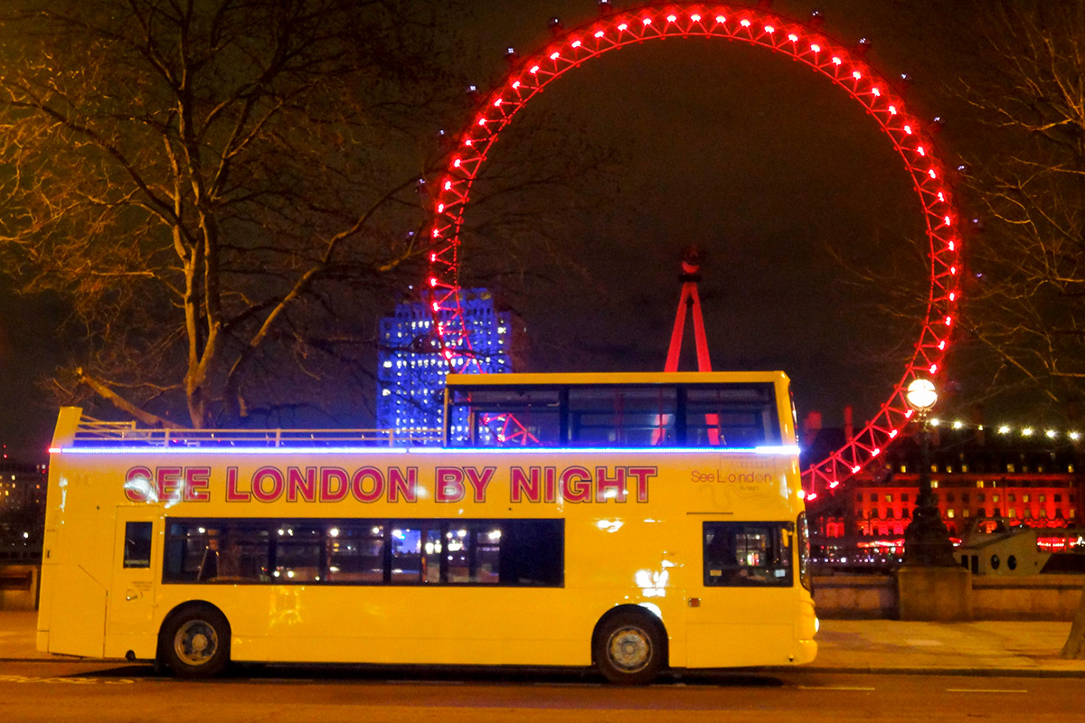 See London By Night Bus Tour For Two Lastminute Com