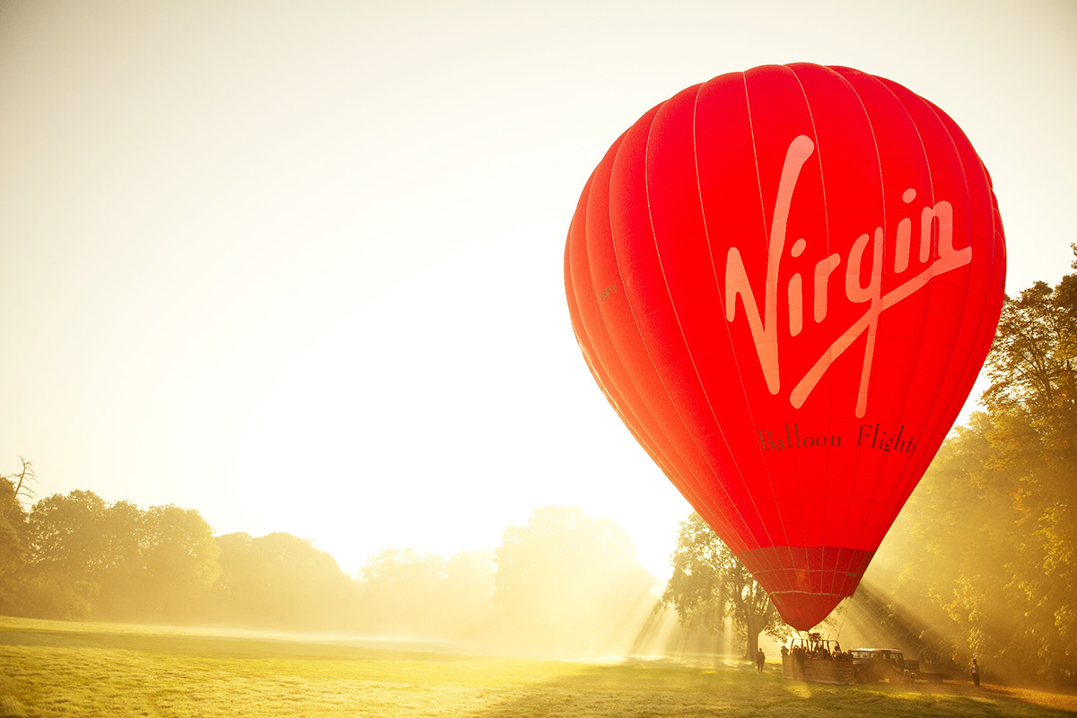 Virgin Celebration Hot Air Ballooning for One