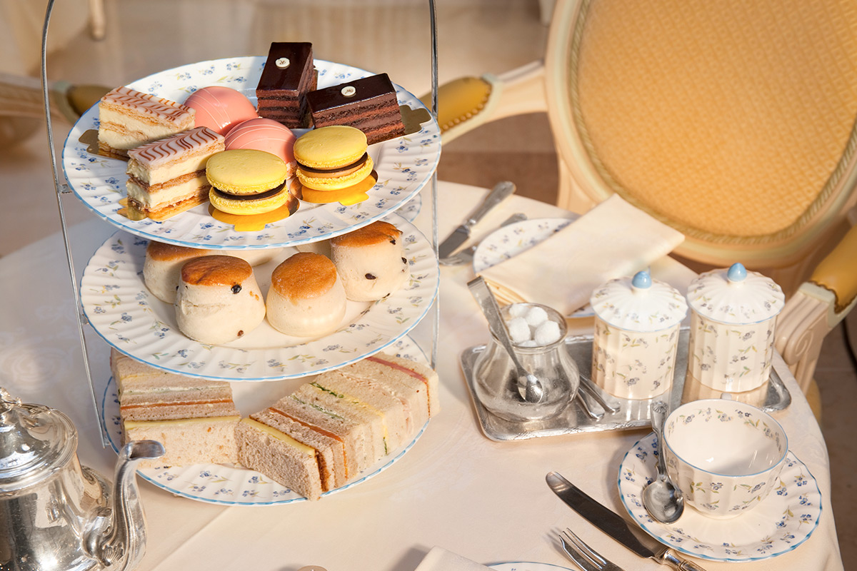 High tea at the ritz menu