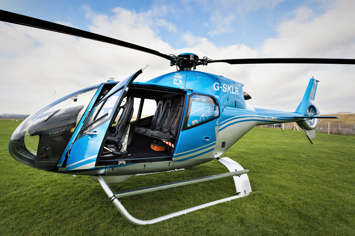 Brighton Helicopter Sightseeing Tour for Two