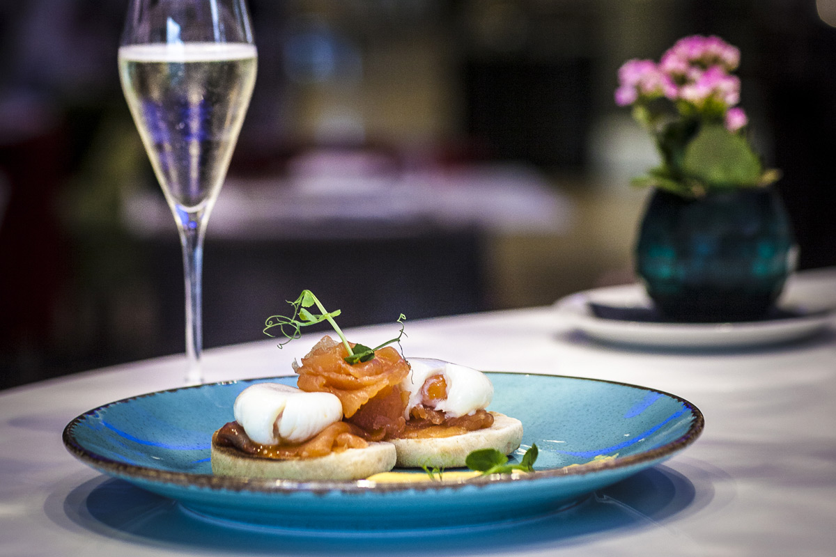 Brunch and Free Flowing Prosecco for Two at Hotel Xenia, Kensington
