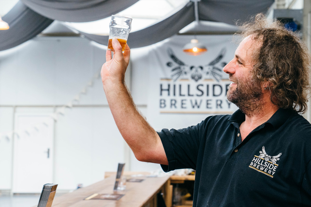 Classic Brewery Tour and Ale Tastings for Two at Hillside Brewery