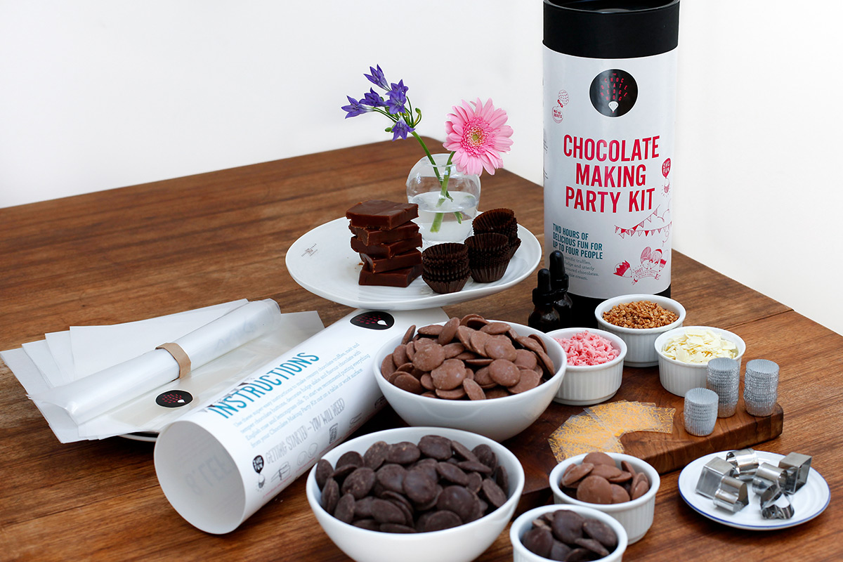 Create Your Own Chocolate Making Experience At Home
