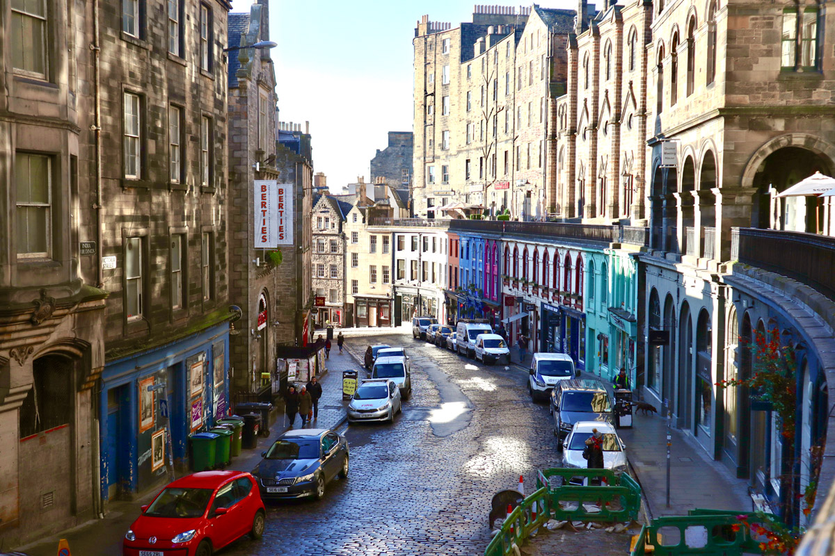 Edinburgh Gastronomy Tour with Tastings for Two