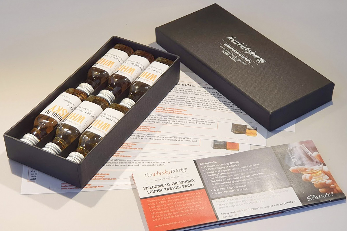 Explore The World of Whisky from Home with an Online Tutorial and Tastings