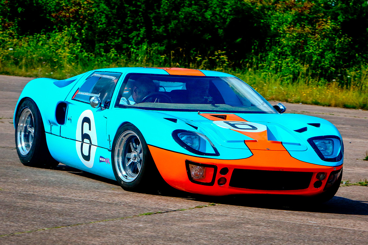 Design Your Own Car >> Ford GT40 Blast | lastminute.com