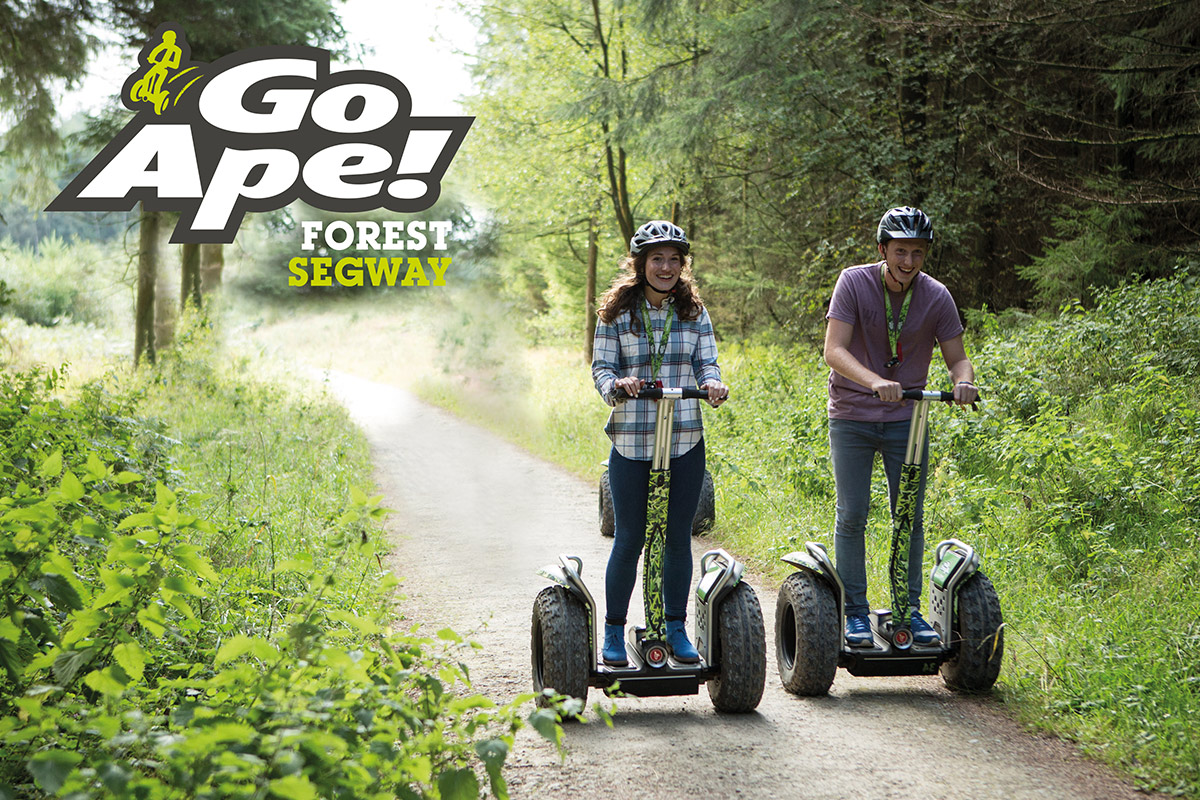 Forest Segway Adventure For Two With Go Ape Lastminute Com