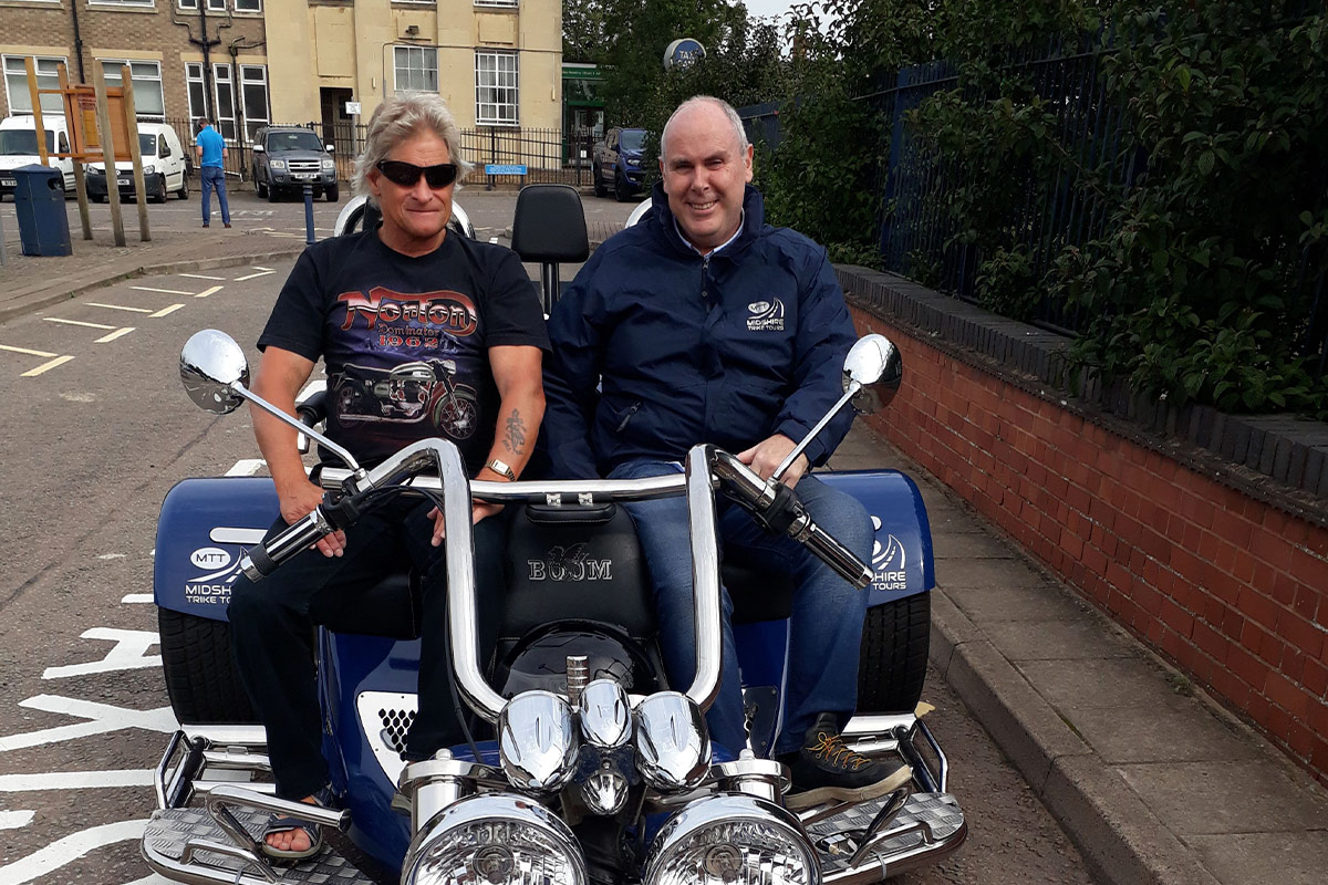 Half Day Chauffered Countryside Trike Tour for Two