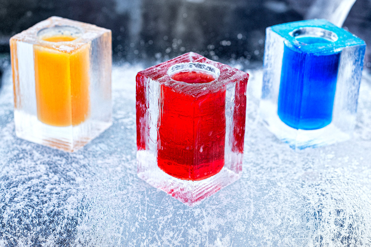 ICEBAR Experience with Cocktails for Two