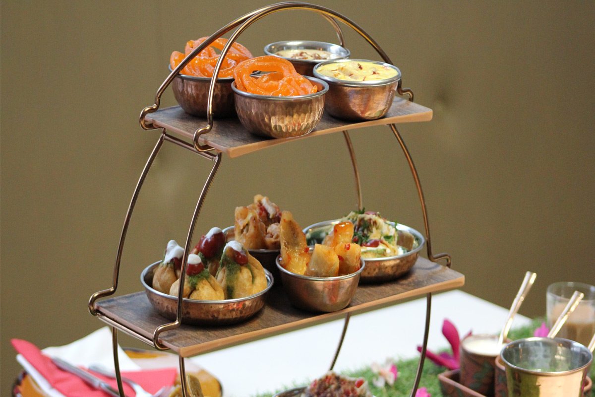 Indian Afternoon Tea for Two at Park Grand, Kensington