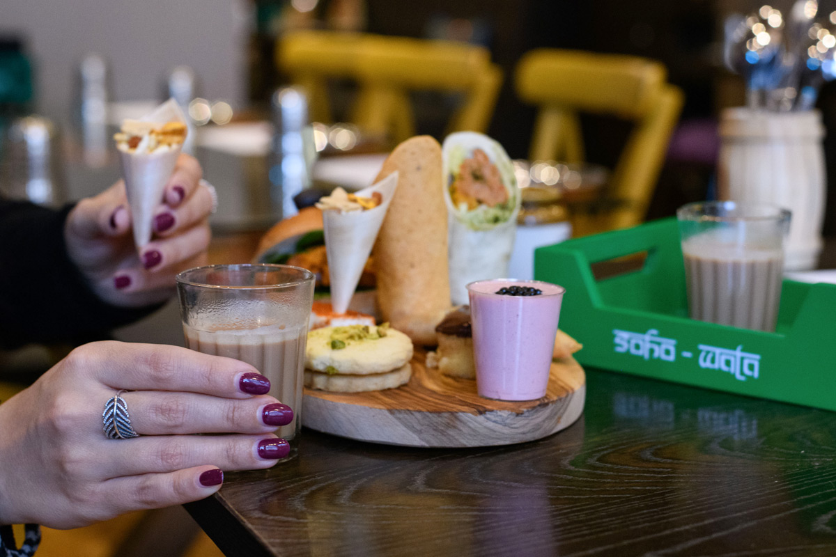 Indian Afternoon Tea for Two at Soho Wala
