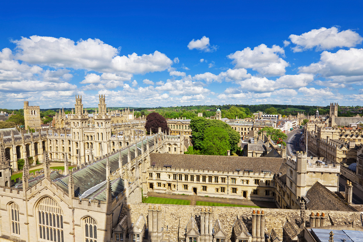 Inspector Morse, Lewis and Endeavor Tour of Oxford for Two