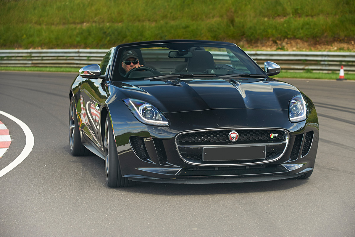 Jaguar F Type Thrill Plus High Speed Passenger Ride