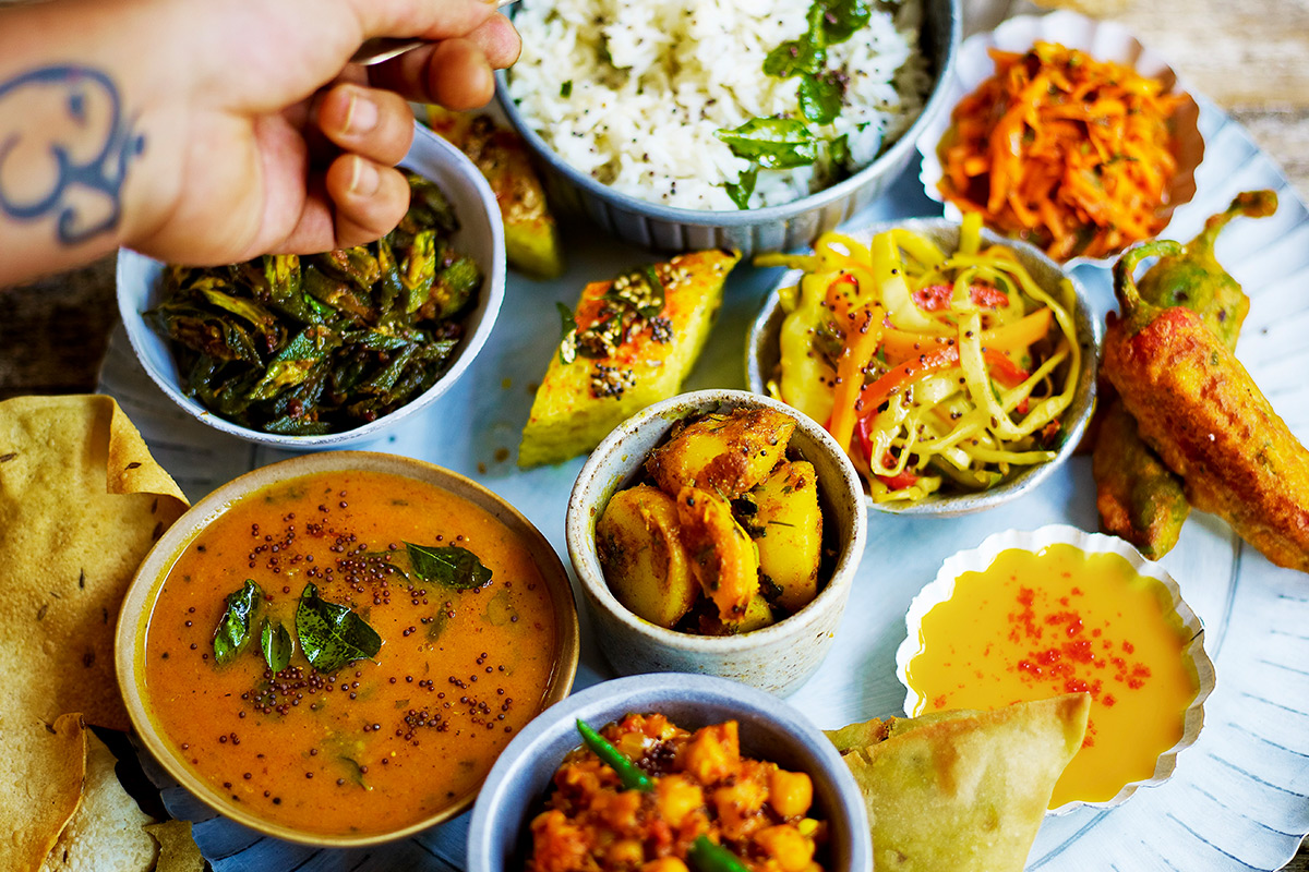 North Indian Thali Class at Jamie Oliver's Cookery School