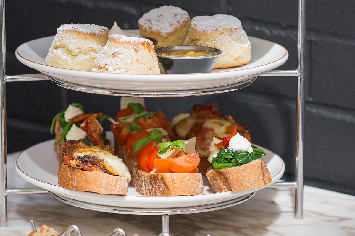 Backyard Kitchen And Tap Menu :  Inspired Afternoon Tea for Two at Monmouth Kitchen, Covent Garden