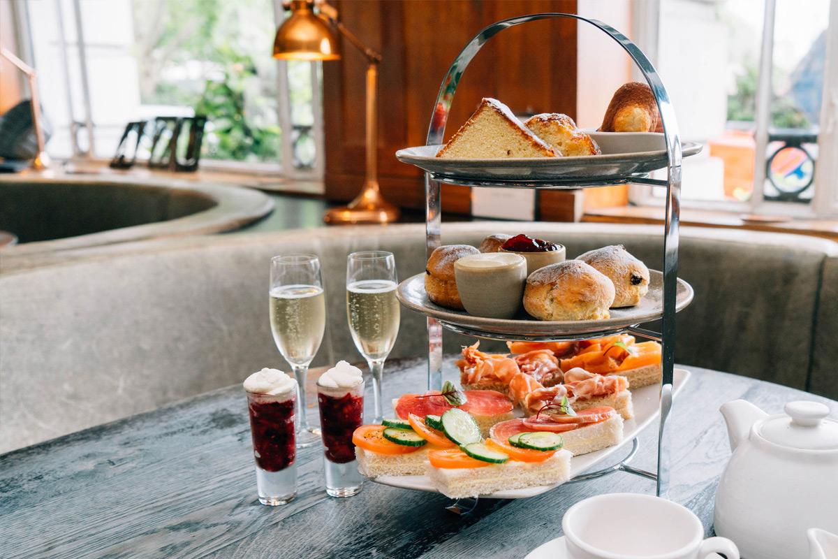 Premium Sparkling Afternoon Tea at a Brasserie Blanc, London