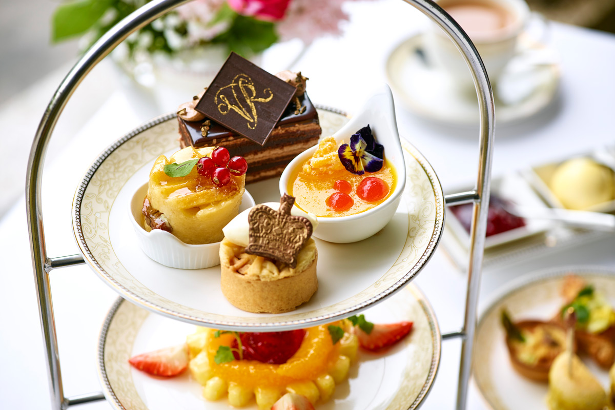 Queen Victoria Afternoon Tea for Two at the 5* Royal Garden Hotel, Kensington