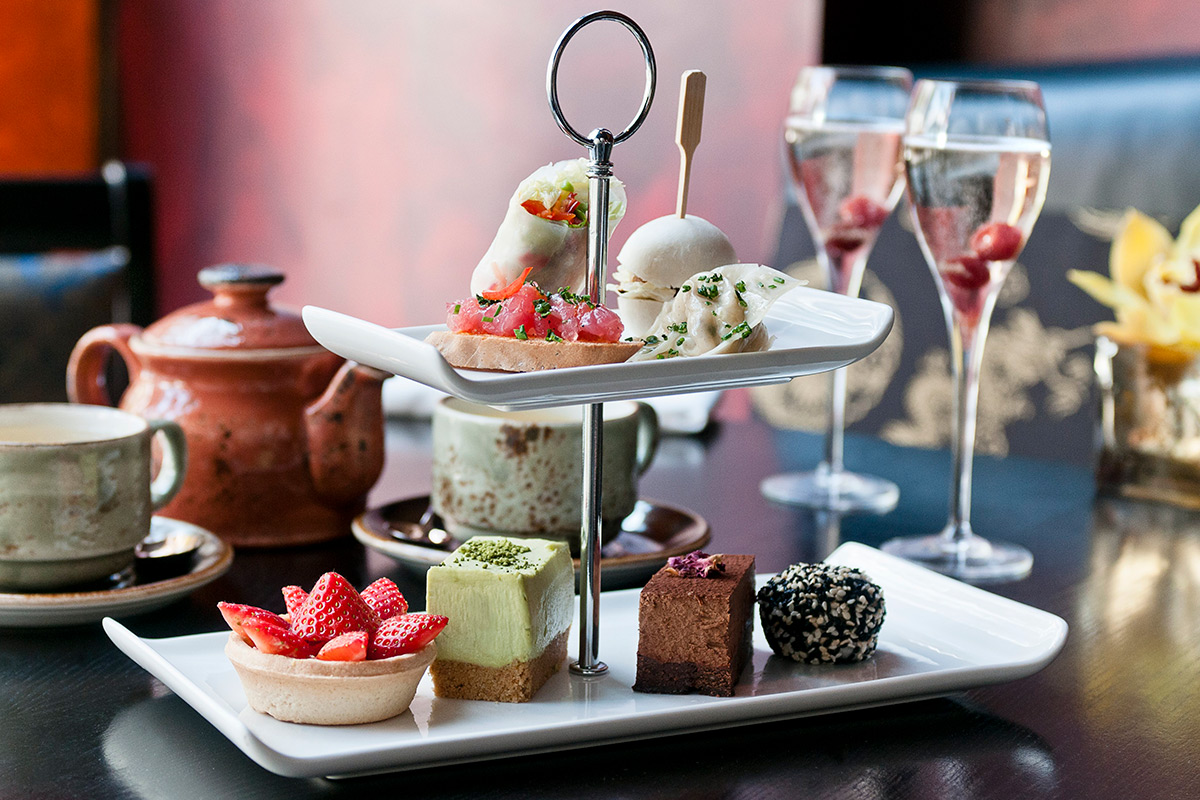 Sparkling Afternoon Tea For Two At Buddha Bar London