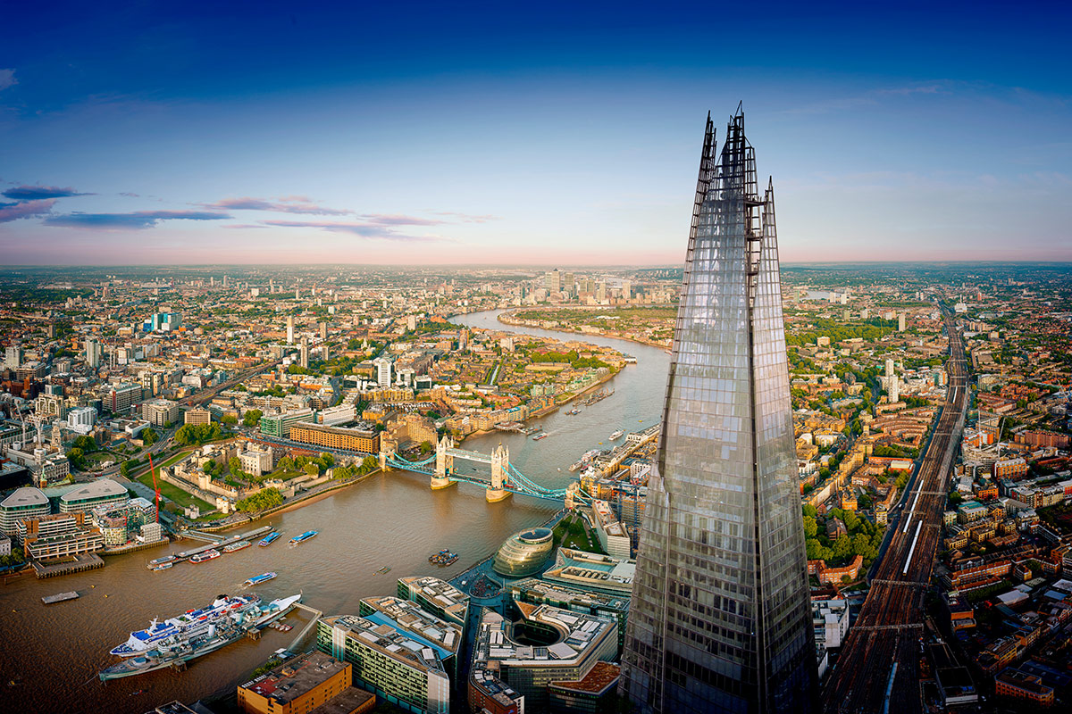 The View from The Shard - Two Adults and Two Children