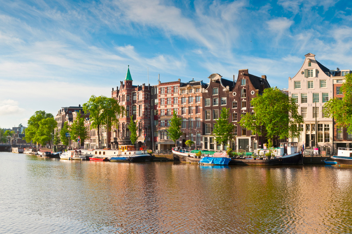 Two Night Cruise to Amsterdam with Breakfast and Canal Cruise for Two with DFDS