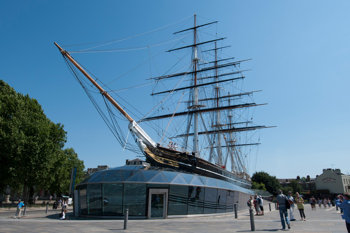 Visit to the Cutty Sark with Thames Clippers River Roamer for Two