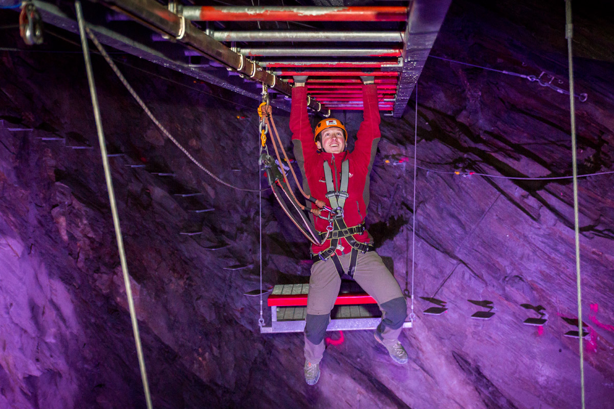 Zip World Caverns Adventure for Two