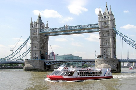 Thames River Cruise and Cream Tea for Two at Harrods