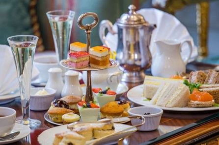 Champagne Afternoon Tea for two at the 5* Bentley Hotel, London