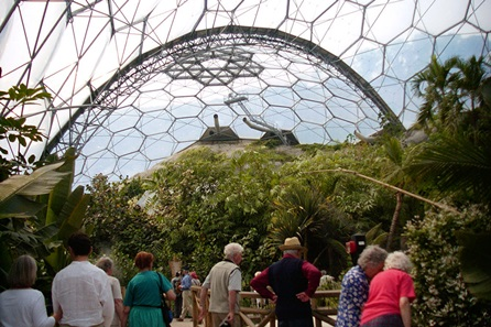 Visit the Eden Project - Two Adults, One Child