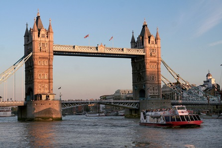 Three Course Meal for Two at a Marco Pierre White Restaurant and Thames River Sightseeing Cruise for Two
