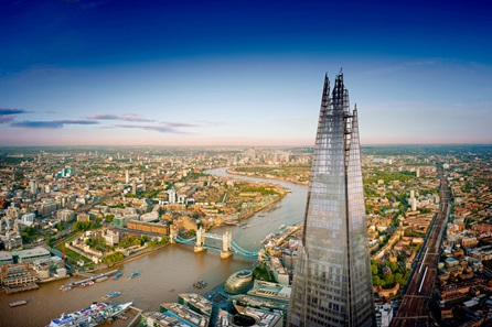 The View from The Shard and Harrods Afternoon Tea for Two