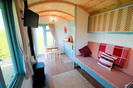 Wild in the Winter Grand Shepherd's Hut Four Night Retreat on the Gower Coast