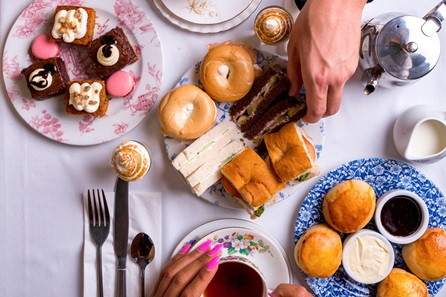 Afternoon Tea for Two at Boulevard Brasserie, Covent Garden