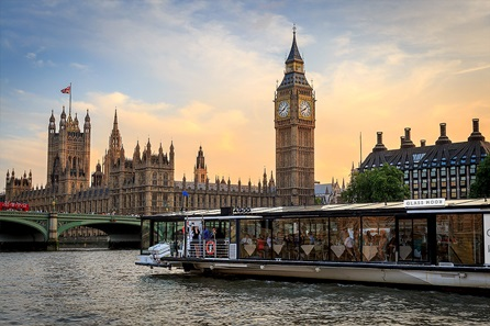 Bateaux London Three Course Thames Lunch Cruise for Two