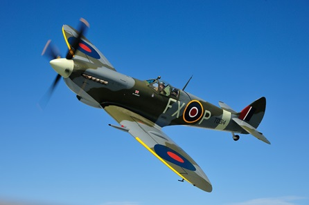 Battle Of Britain - Open Air Cinema Screening, Spitfire Display and Fireworks for Two - Saturday 2 June 2018