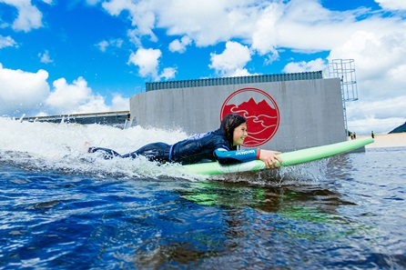 Beginner Surfing Lesson at Surf Snowdonia Adventure Parc