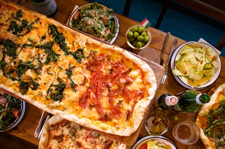 Bottomless Pizza and a Cocktail for Two at Bunga Bunga, Battersea