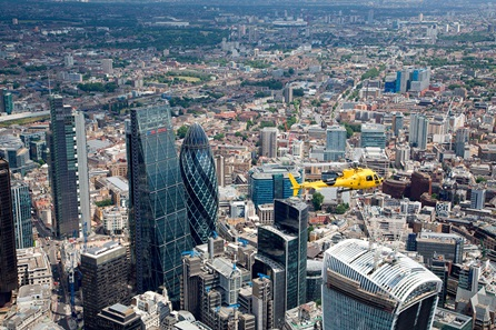 Central London Sights Helicopter Tour for Two