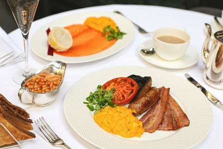 Champagne Breakfast for Two at Gordon Ramsay's Savoy Grill