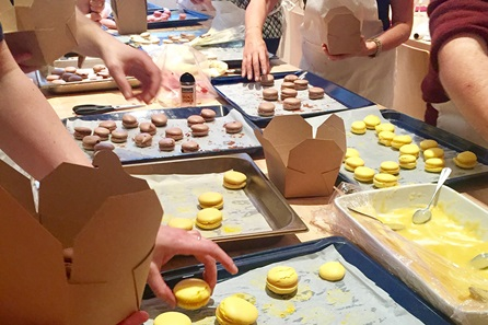 Chocolate and Macaroons Masterclass at La Cucina Caldesi
