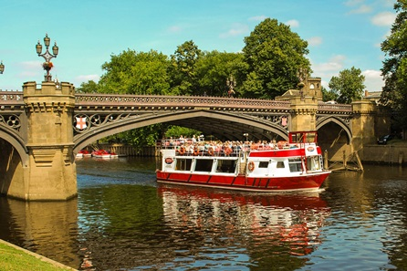 City of York Sightseeing River Cruise for Two