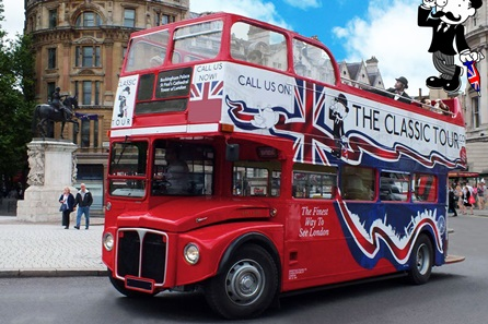 Classic Routemaster Bus Tour of London for Two