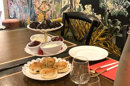 Cream Tea for Two at The Putney Tea Rooms